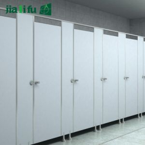 Jialifu Public HPL Toilet Cubicle Partition System pictures & photos