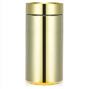 Gold Chrome Plastic HDPE Bottle pictures & photos