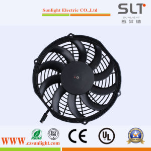 12V 24V 36V Condenser Cooling Axial Fan for Cars pictures & photos