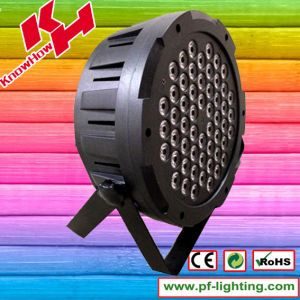 54PCS RGB 3in1 Plastic LED PAR Light pictures & photos