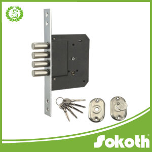 Four Cylindrical Lock Body with Key pictures & photos