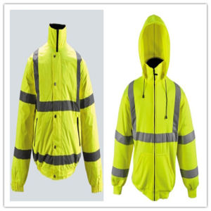 Reflective Safety Clothes for Working with High Visibility Reflective pictures & photos