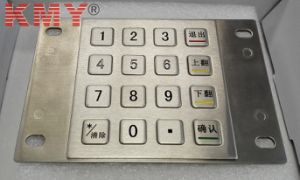 Waterproof IP65 Non-Encrypted Metal Numeric Keypad (KMY3502B) pictures & photos