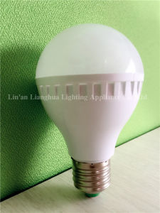 5W 7W 9W 12W PC Plastic LED Light Bulb pictures & photos