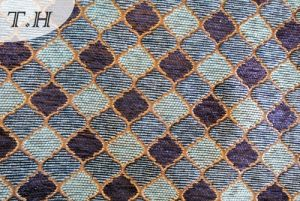 a Grid of Chenille Jacquard Sofa Cloth and Furniture Special Cloth pictures & photos
