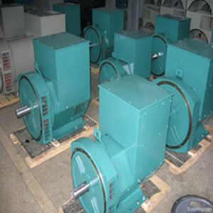 Single Phase and Three Phase Dynamo 20kw 30kVA Synchronous Brush Auto Alternator Generator 100% Copper pictures & photos