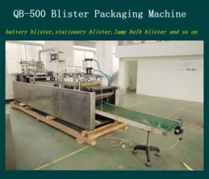 Pet Blister Paper Packaging Machine for SD Card pictures & photos