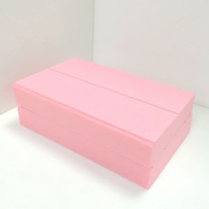 Fuda Extruded Polystyrene (XPS) Foam Board B3 Grade 350kpa Pink 30mm Thick Slotted