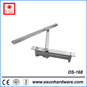 Safety Popular Designs Aluminium Alloy Glass Door Closer (DS-168) pictures & photos