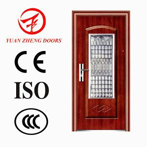 Yongkang Manufacturer Steel Security Interior Doors in Doors pictures & photos