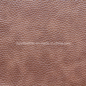 Popular Two Tone Effect for Furniture Leather (QDL-53170) pictures & photos