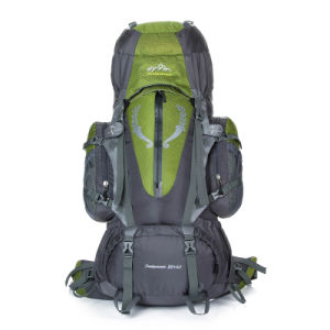 Unique Sale 85L Nylon Waterproof Hiking Backpack Bag pictures & photos