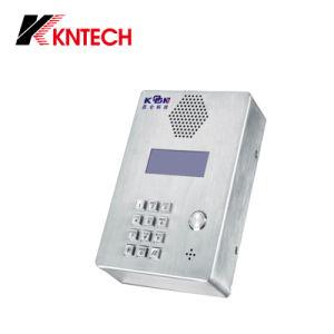 IP Phones SIP Phone Elevator Phone Knzd-03 LCD Waterproof Phone pictures & photos