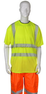 cheap safety reflective t-shirt pictures & photos