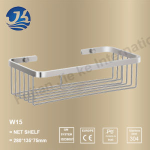 Bathroom Fitting Stainless Steel Net Shelf (W15)
