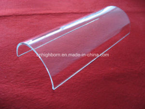 Clear Fused Arc Quartz Glass Sheet Per Drawing pictures & photos