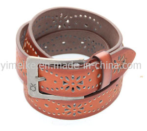 Personalized Design Attractive High Quality Mans PU Leather Belts Wholesales pictures & photos