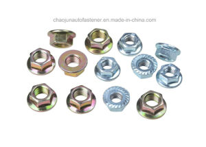 Carbon Steel Tfi145 Hex Flange Nut (CZ003)