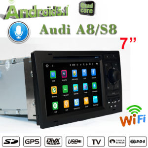 Carplay Android GPS Navigatior for Audi A8/S8 DVD Player with GPS RDS Bt 3G/WiFi DSP Radio pictures & photos