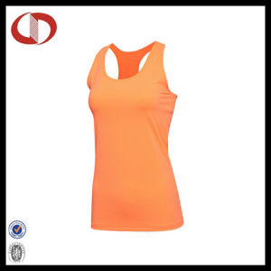 Fashion Cheap Blank Breathable Women Fitness Wear Tops pictures & photos