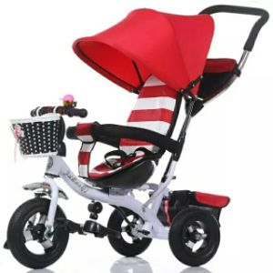 Aluminum Alloy High Quality Baby Stroller Tricycle pictures & photos
