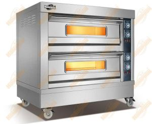 Stainless Steel Case 2deck Electric Baking Oven (204DH) pictures & photos