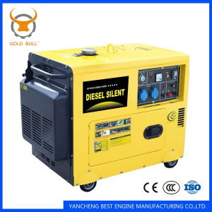 GB3500dgs Air-Cooled Power silent Diesel Generator for Industrial Use pictures & photos