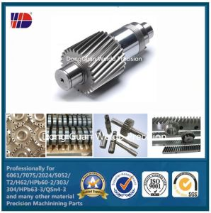 China Supplier Stainless Steel Gear Manufacturing (WKC-108) pictures & photos