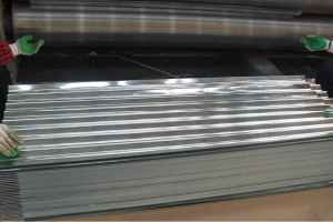 Cold Rolled Corrugated Steel Sheet pictures & photos