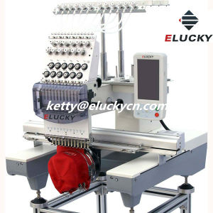 More Popular with The High Quality Single Head Embroidery Machine