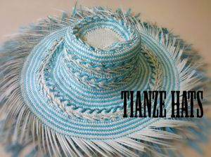 Whipstitch Paper Straw Hat Body pictures & photos