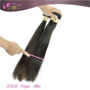 Xbl Natural Color Straight Brazilian Virgin Hair Extension pictures & photos