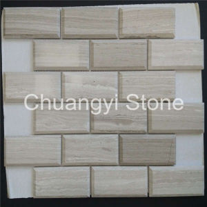 China Supplier House Decorative Wall Tile Beige Marble Mosaic