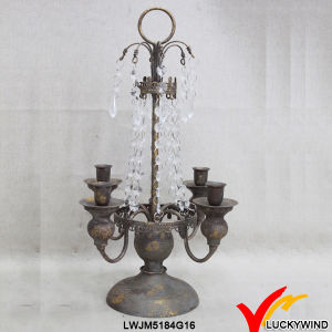 Table Version Retro Rustic Candelabra Centerpieces pictures & photos