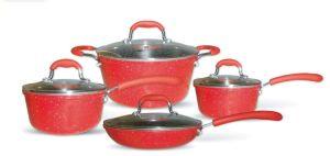 Amazon Vendor 8 Piece Non Stick Ceramic Cookware Set pictures & photos