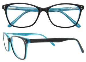 High Quality Acetate Designed Eyeglasses Optical Frame pictures & photos