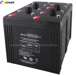 Solar Panel Battery 2V3000ah with 3years Warranty for Solar Projects pictures & photos