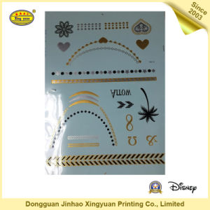 New Style 2016 Body Metallic Flash Tattoo (JHXY-TT0007)
