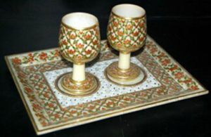 Ali Express Marble Wine Glass pictures & photos