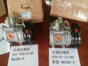 Komatsu Wheel Loader Spare Parts, Compressor (20Y-979-8130/425-07-21190) pictures & photos