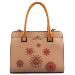 New Designer Fashionable Printed Faux Leather Women Ladies Handbag (L5005)