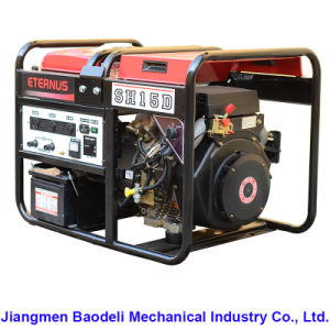 High Quality 10000 Watts Portable Diesel Generator (SH8Z) pictures & photos