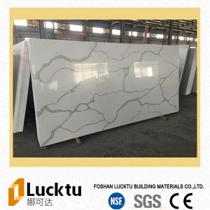 Calacatta Slab Factory Quartz Stone Artificial Quartz Stone