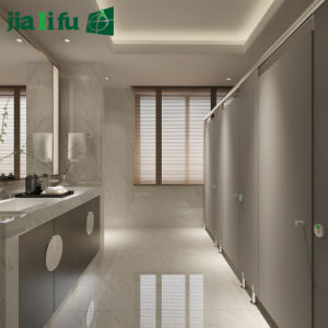 Jialifu SGS Passed Compact Laminate Toilet Partition pictures & photos
