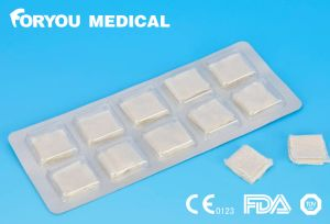 Surgical Premium China Dental Product Surgical Hemostatic K Pad Medical FDA Approved Hemostatic Gauze for Dental pictures & photos