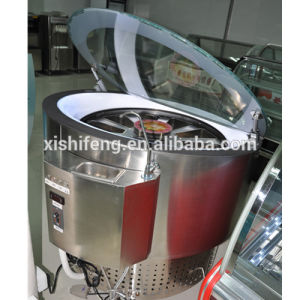 Round Circular Rotating Freezers for Ice Cream Gelato Display Used pictures & photos