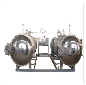 Stainless Steel Automatic Food Sterilizing Machine Steam Sterilizer