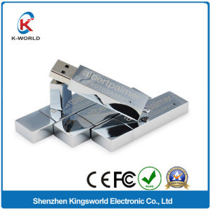 Metal USB Flash Memory with Free Laser Logo pictures & photos