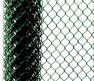 PVC Coated Iron Wire Mesh Chain Link Fence for Playground pictures & photos