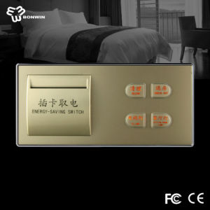 China Hotel Supplier for Electrical Mechanical Push Button Switch pictures & photos